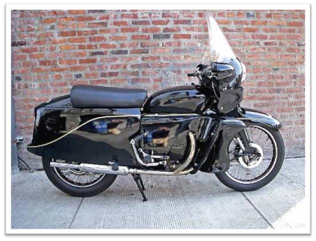 1955 Vincent 998cc Black Knight picture