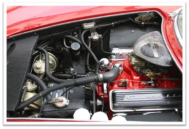 Bizzarrini 5300 GT Strada Engine