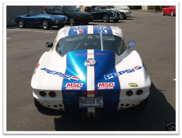 Chevrolet Corvette La Carrera Panamericana Race Car Rear