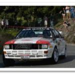 Audi Quattro Competing at Targa Newfoundland