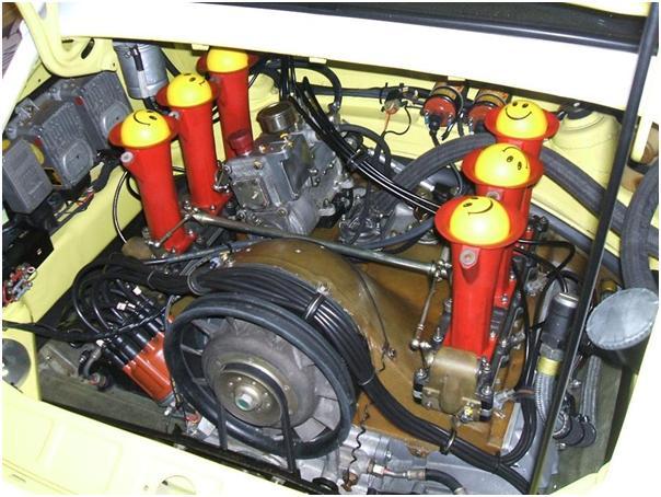 Porsche 911 RSR 3.0 Engine