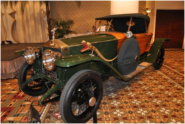 1914 Rolls Royce Silver Ghost Shapiro-Schebera Skiff