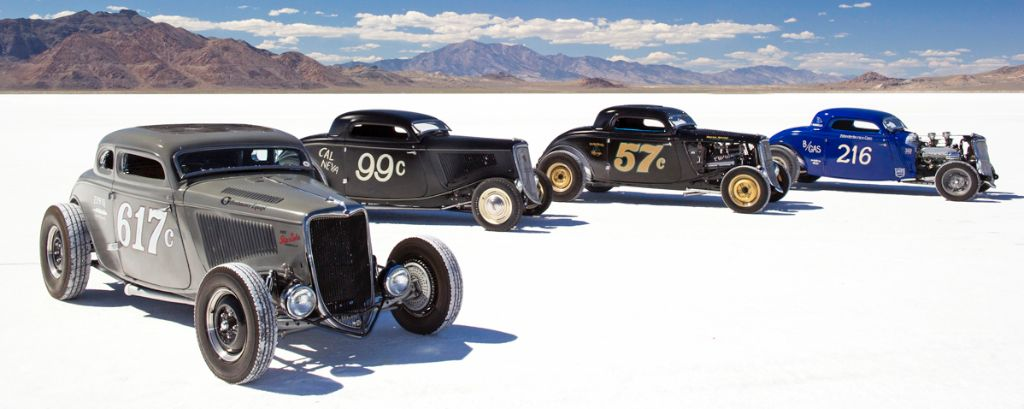 Ford Hot Rods at 2013 Bonneville Speed Week