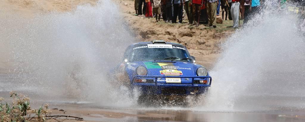 Stig Blomqvist / Staffan Parmander, Porsche 911