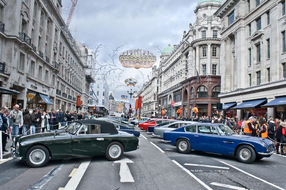 Aston Martin Display at 2013 Regent St Motor Show