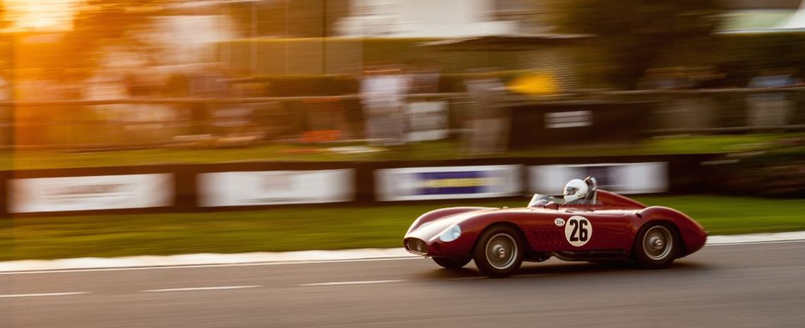 Maserati 300S at the Goodwood Revival 2014