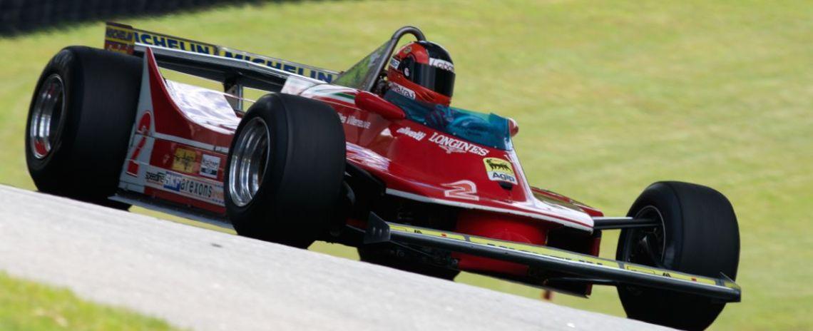 Bud Moeller's Ferrari 312 T5.