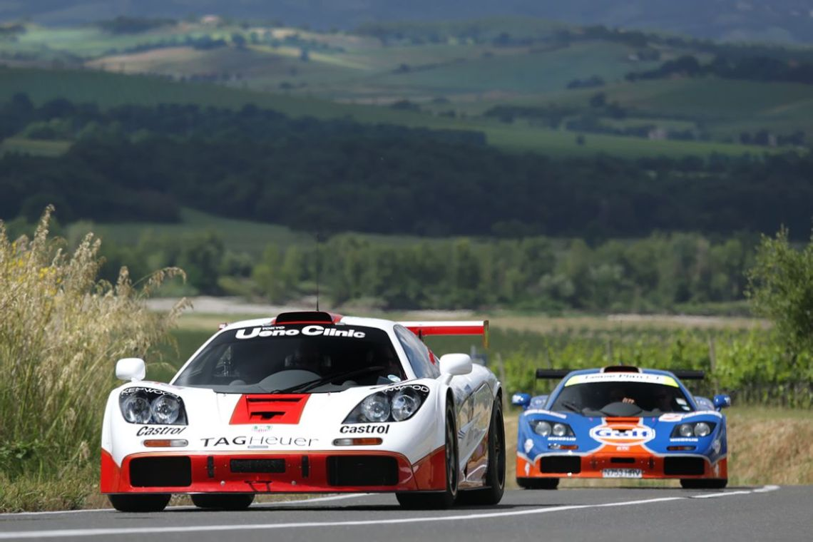 #30 Art Sports 1995 McLaren F1 GTR chassis 02R finished 4th at Le Mans in 1996 and won the 1995 BPR Series