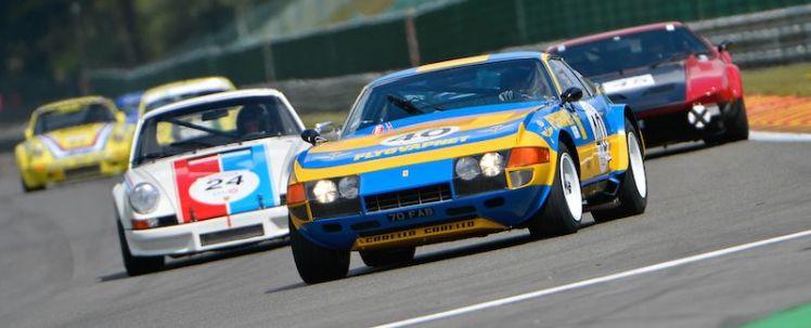 Ferrari Daytona Group IV at Spa Classic 2014