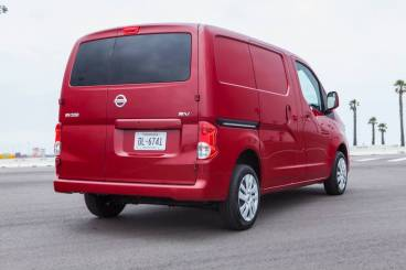 2014 Nissan NV200 - Rear