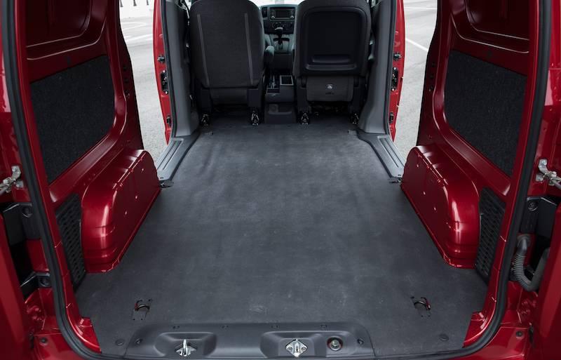 Nissan NV200 - Storage Area