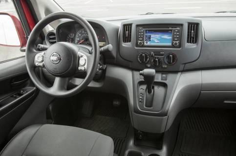 2014 Nissan NV200 - Dashboard