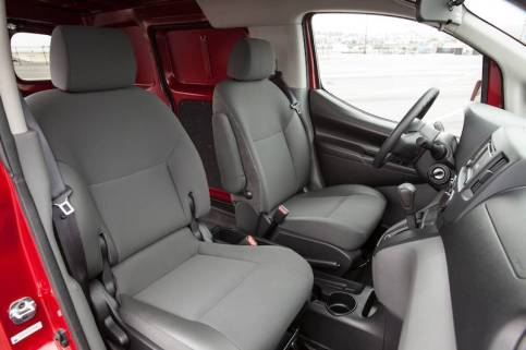 2014 Nissan NV200 - Front Seating