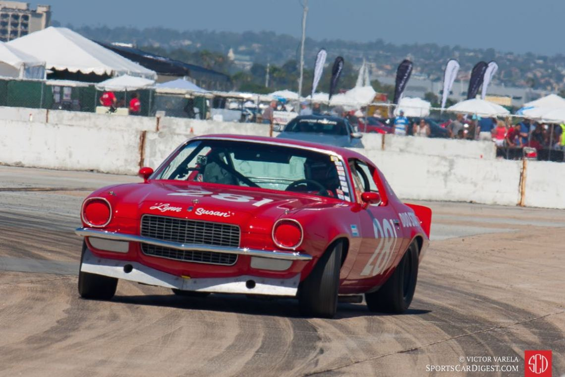 Power slide... 1970 Chevrolet Camaro driven by Gregory Weirick