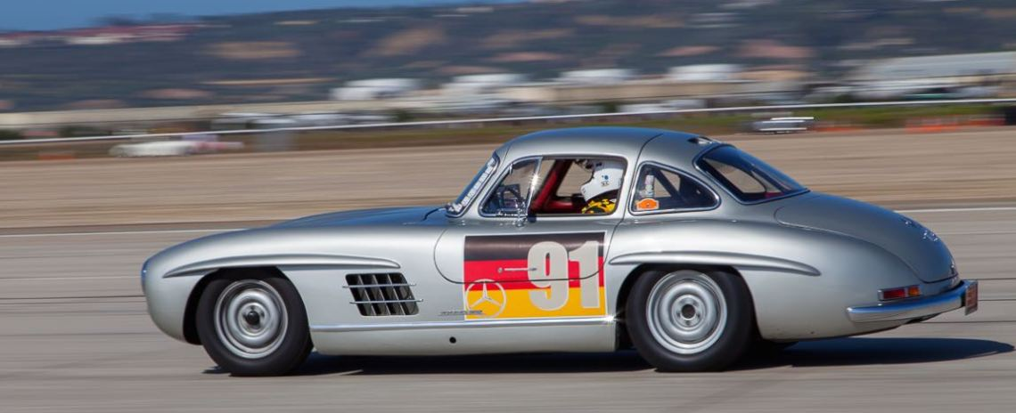 Alexander Curtis' 1955 Mercedes-Benz 300 SL Gullwing