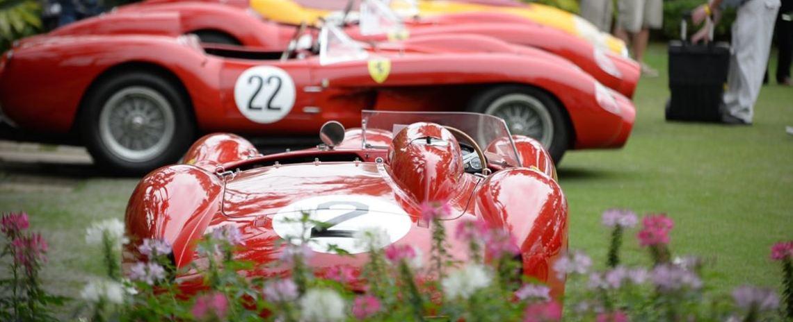 1958 Ferrari 412 MI Serial No. 0744.