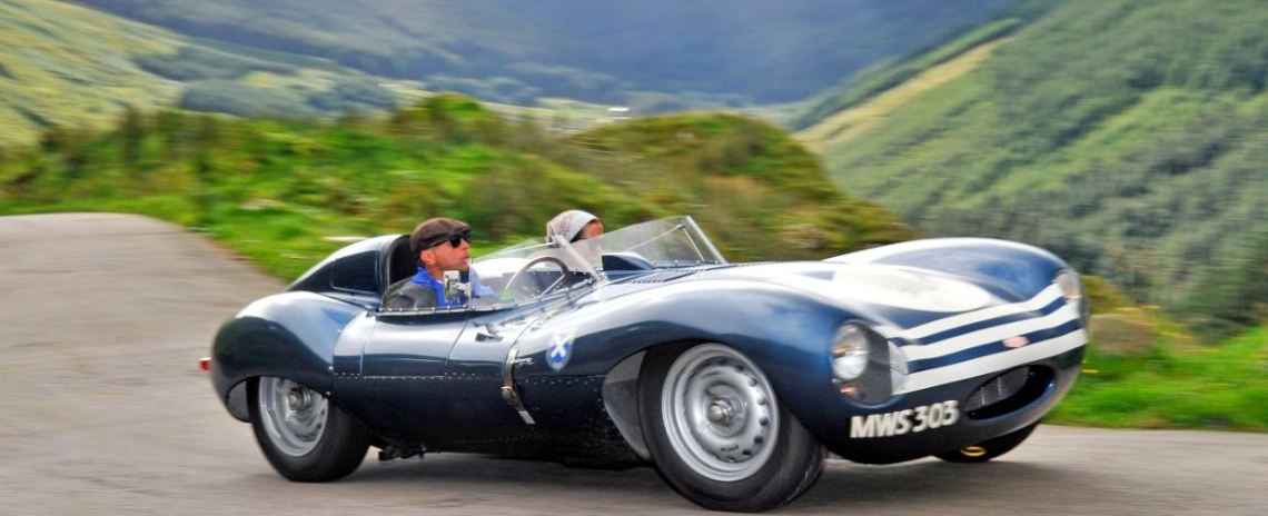 1956 Jaguar D-type Long Nose Ecurie Ecosse