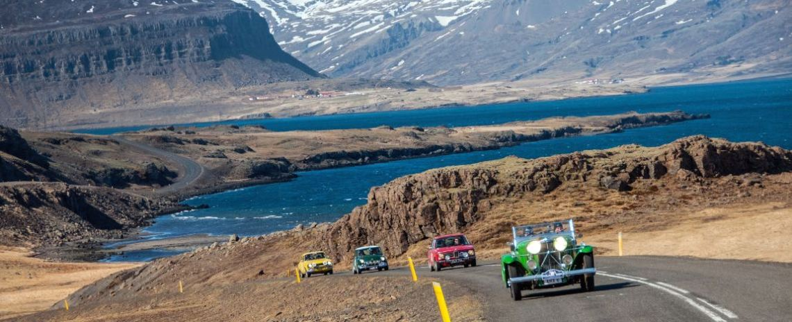 1933 Talbot 105 Vanden Plas Tourer, 1973 BMW 2002 Tii, 1968 Morris Mini Cooper S and 1974 Ford Escort
