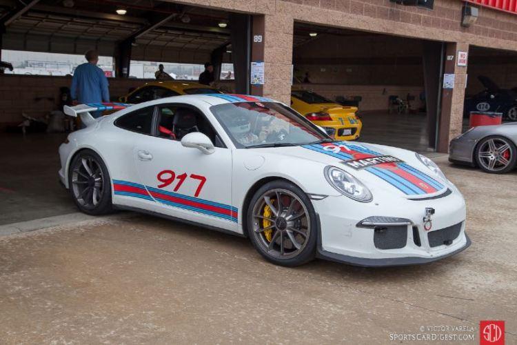Porsche 911 GT3 Martini livery