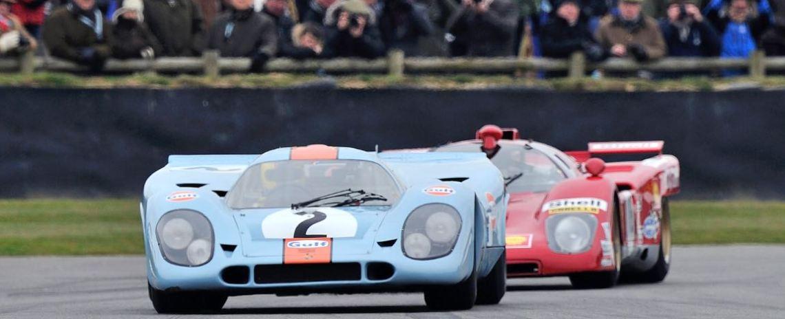 1969 Porsche 917K and 1970 Ferrari 512M