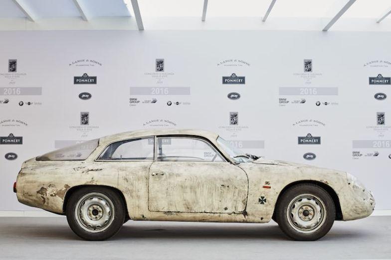 1961 Alfa Romeo Giulietta SZ Coupe by Zagato