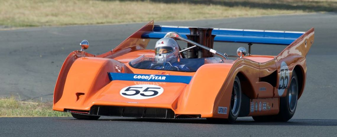 Robert Kauffman's 1972 McLaren M8F/P