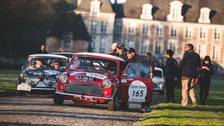 Minis invade Tour Auto Rally 2016