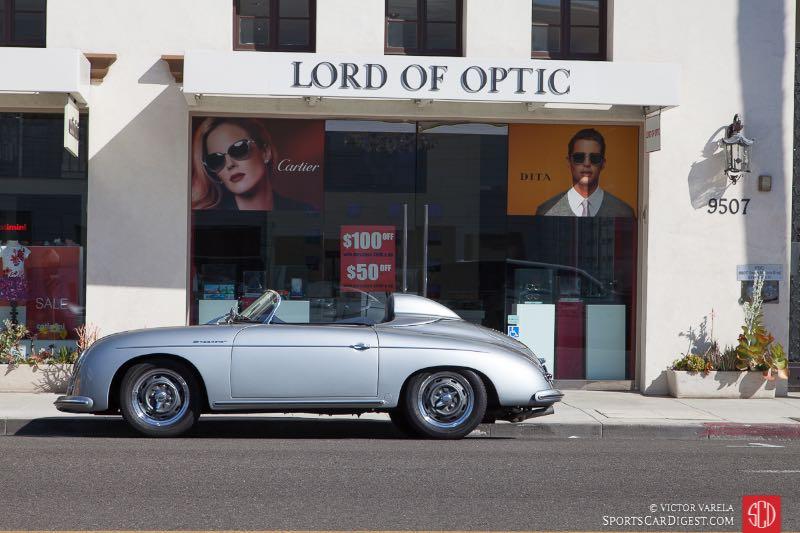 Speedster on Santa Monica Blvd.