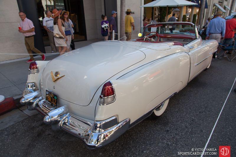 White Cadillac Convertible