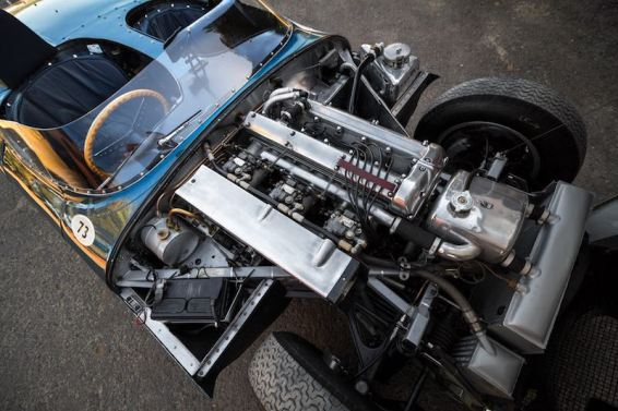 1955 Jaguar D-Type Engine