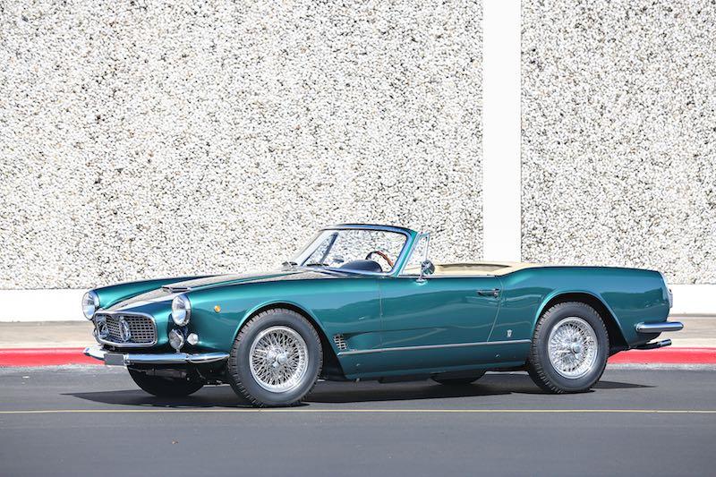 1960 Maserati 3500 GT Vignale Spider (photo: Mathieu Heurtault)