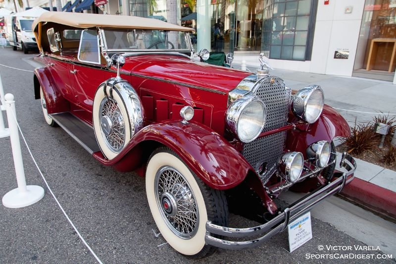 1930 Packard 740 Dual Cowl Phaeton by Dietrich - owned by Danny & Phillip Howard
