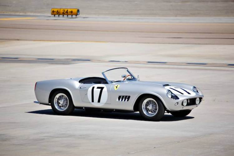 1959 Ferrari 250 GT LWB California Spider Competizione, chassis 1603 GT (photo: Brian Henniker)