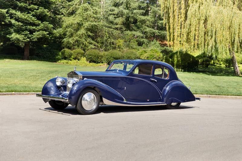 1932 Rolls-Royce Phantom II Continental Berline (photo: Mike Maez)