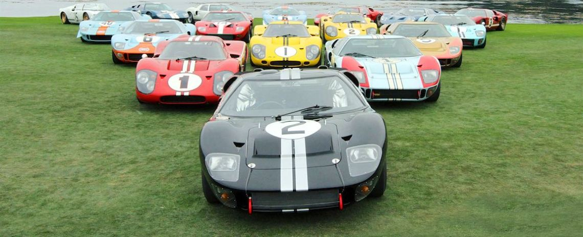 Ford GT40 Le Mans Display