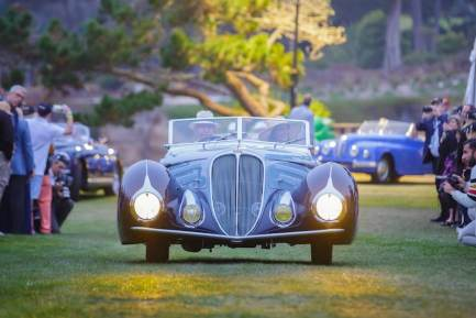 1937 Delahaye Type 135M (photo: Kimball Studios)