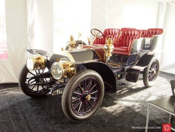 1904 Mercedes-Simplex 28-32HP Rear Entrance Tonneau