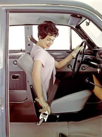 3-point front safety belt