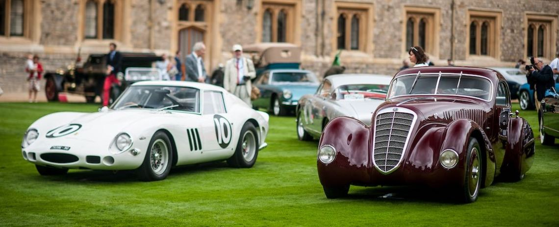 1962 Ferrari 250 GTO and 1932 Alfa Romeo 8C 2300 Viotti Coupe