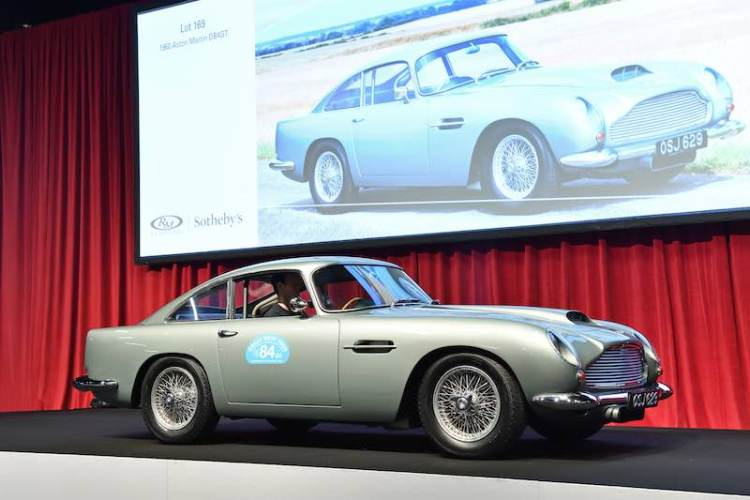 1960 Aston Martin DB4GT (photo: Tim Scott)