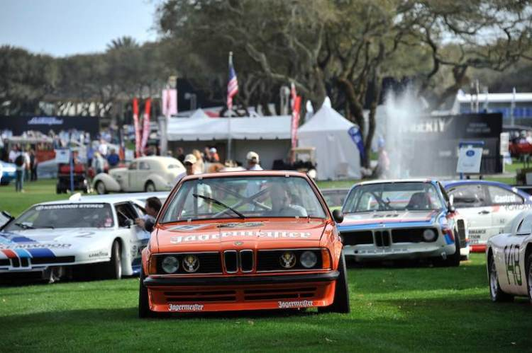 Jagermeister BMW 635 CSi at 2016 Amelia Island Concours
