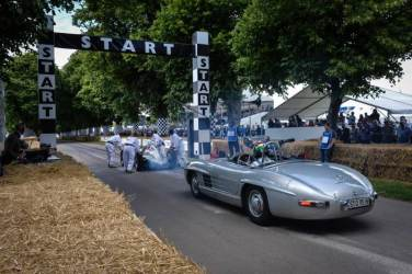 Mercedes-Benz 300 SLS (Photo from the Goodwood Festival of Speed 2014)
