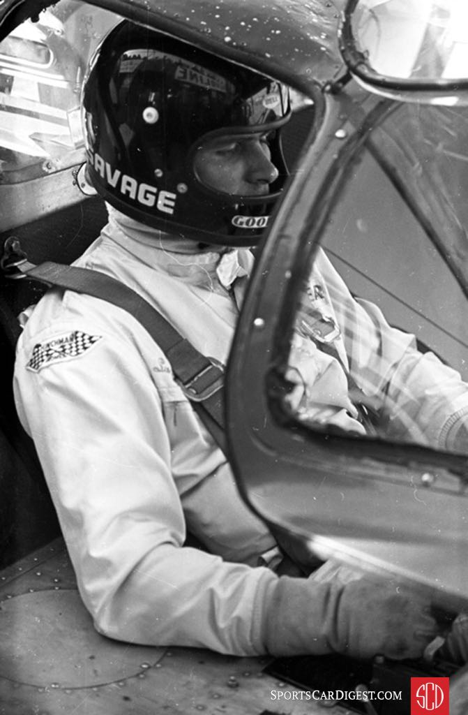Swede Savage and Peter Revson were forced to service their own car (Photo: www.autosportsltd.com)