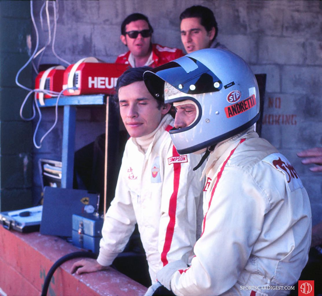 Mario Andretti and Jacky Ickx would return in '72 for the win (Photo: Gene Bussian)