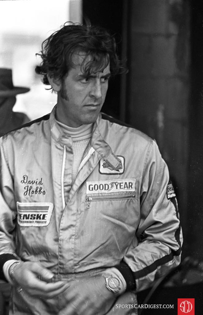 Hobbs' body language is clear (Photo: Autosports Ltd.)