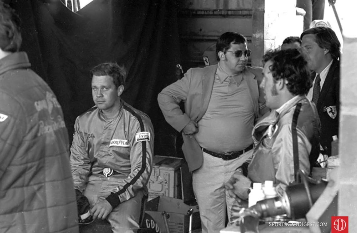 Mark Donohue looks dejected after the accident with Rodriguez (Photo: www.autosportsltd.com)
