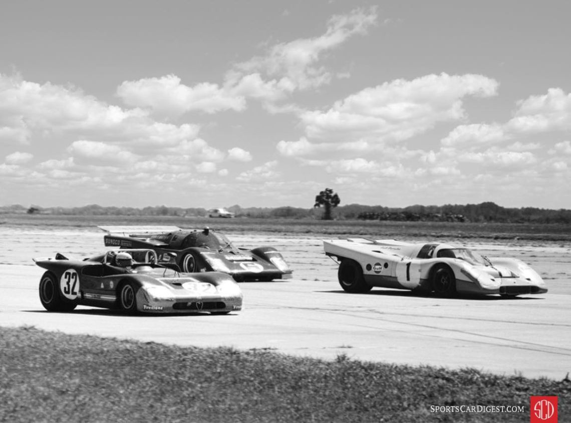 The Alfa would finish third, the Porsche fifth and the Ferrari sixth overall (Photo: FlaGator73)