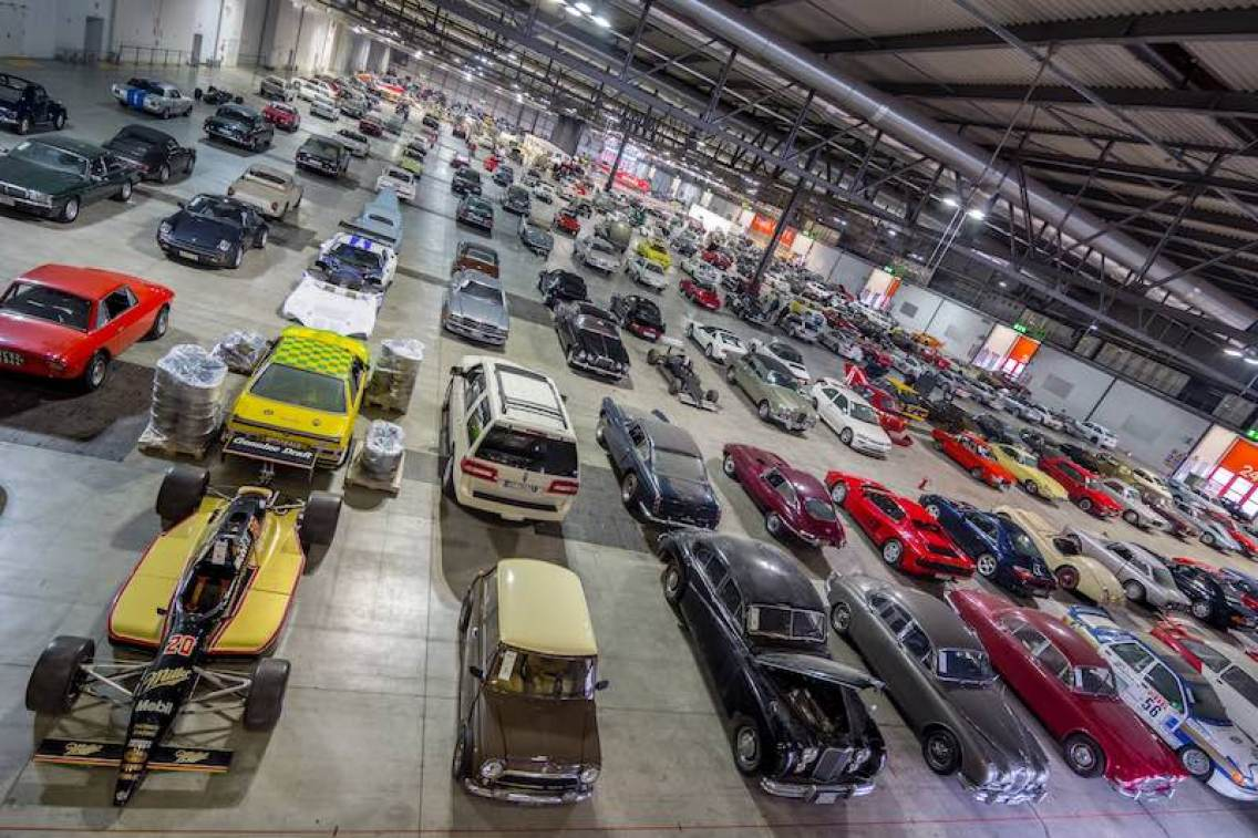 Nothing but cars for days at RM Sotheby's Duemila Ruote event in Milan, November 25-27 during the Milano AutoClassica