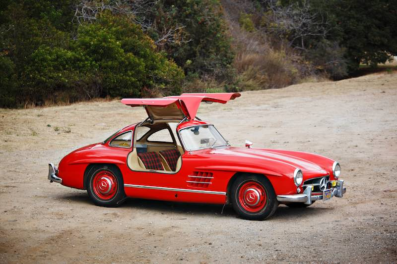 1955 Mercedes-Benz 300 SL Gullwing (photo: Brian Henniker)