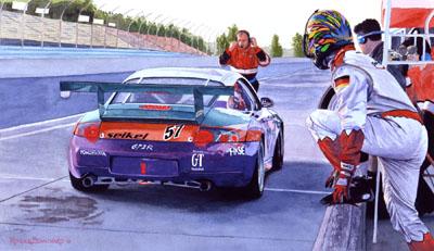 Porsche 911 Driver Change